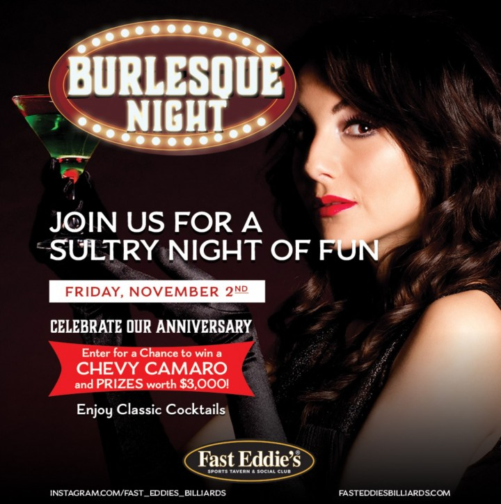 Fast Eddie's Burlesque Night + 20th Anniversa