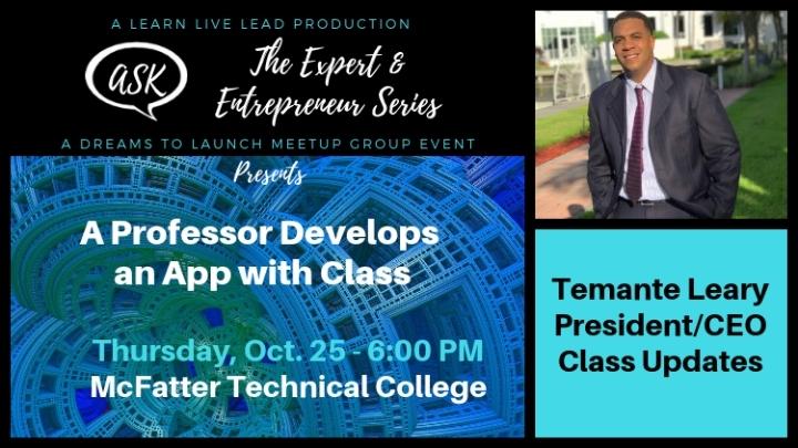 A Professor Develops an App with Class - An A