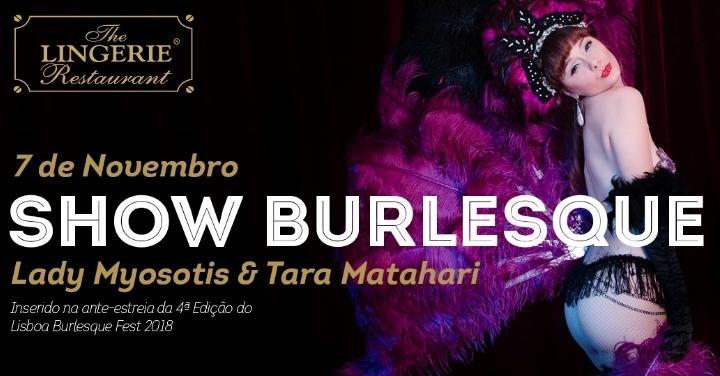 Burlesque Show - The Lingerie Restaurant