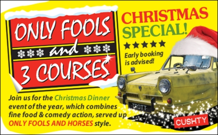 Only Fools and 3 Courses XMAS Special Dinner