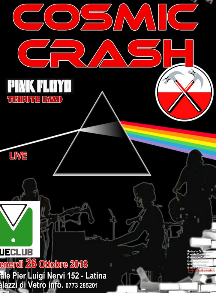 Cosmic Crash Pink Floyd Tribute Live a Cue Cl
