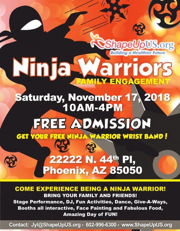 Ninja Warriors Family Expo