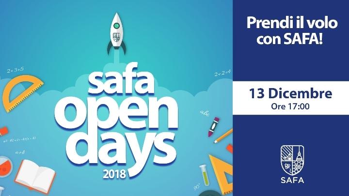 3° Open Day SAFA - Prendi il volo con SAFA!