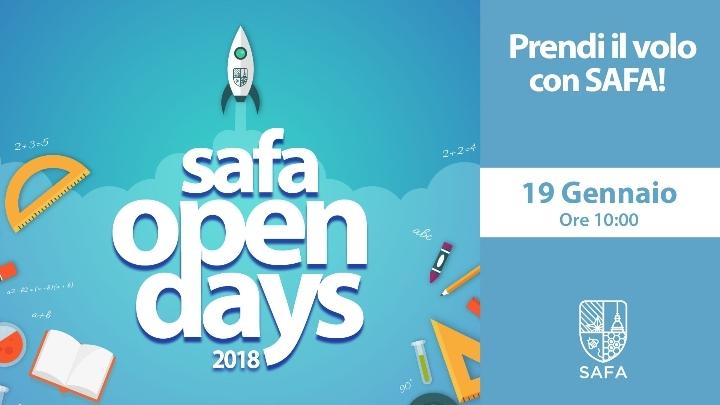 4° Open Day SAFA - Prendi il volo con SAFA!