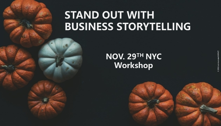 STAND OUT WITH BUSINESS STORYTELLING