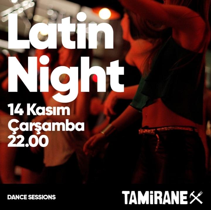 LATIN NIGHT / DANCE SESSIONS