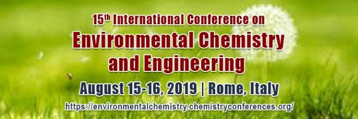 15th International Conference on Environmental Chemistry and Engineering