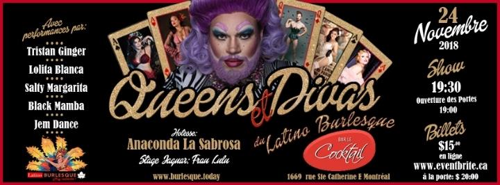 Queens et Divas du Latino Burlesque