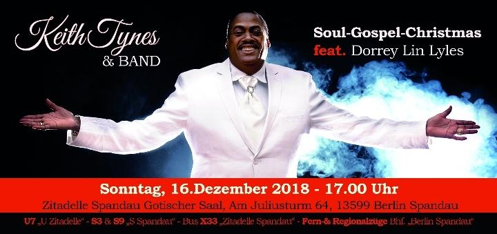 Soul-Gospel-Christmas mit Keith Tynes, featuring Dorrey Lin Lyles