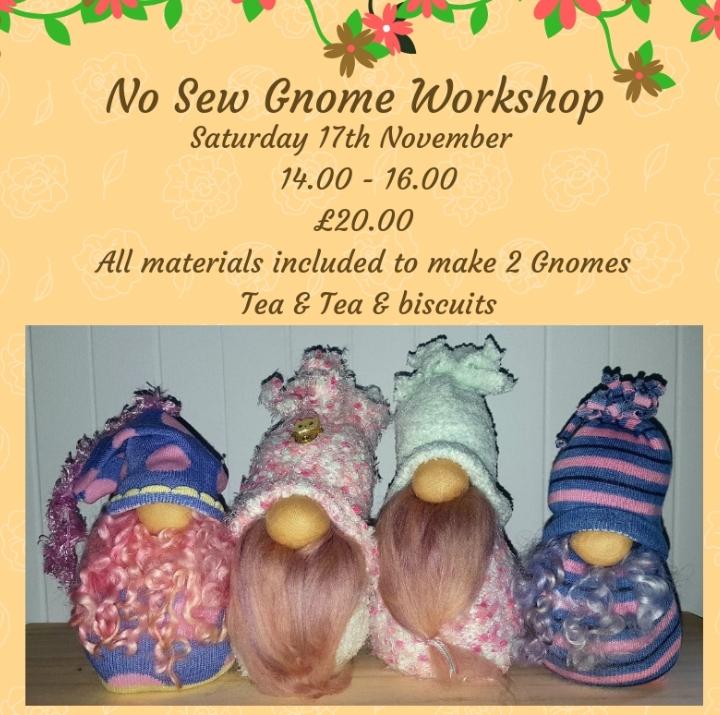 No Sew Gnome Workshop