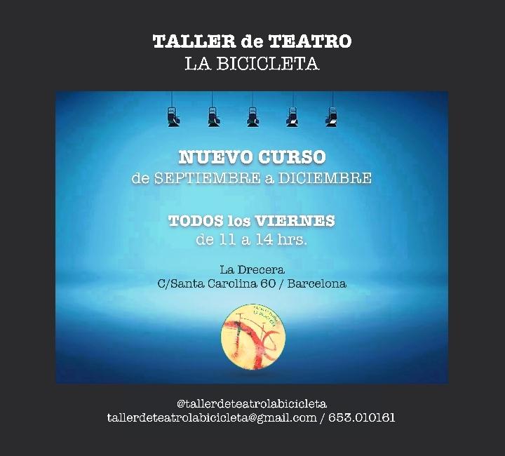 TALLER DE TEATRO LA BICICLETA