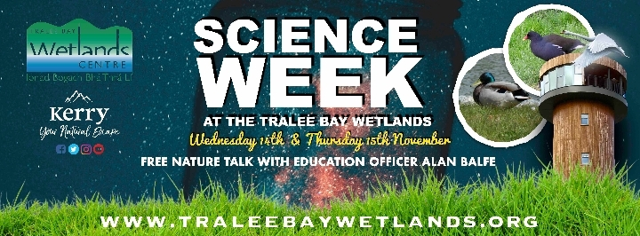 FREE Nature Talk at Tralee Bay Wetlands Centre