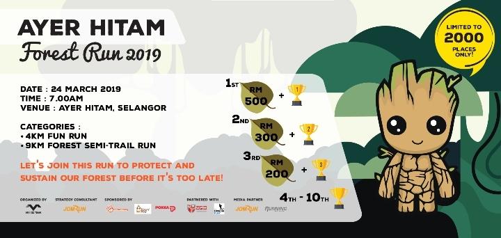 Ayer Hitam Forest Run 2019