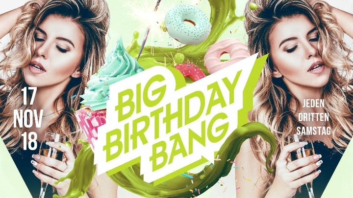 BIG Birthday BANG - NOVEMBER -