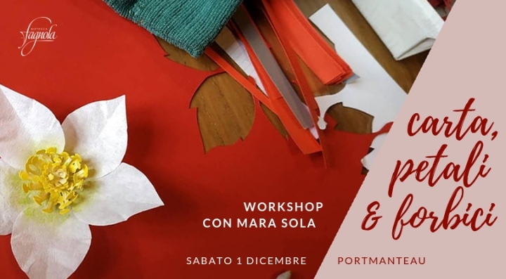 Carta, petali & forbici - workshop paper flow