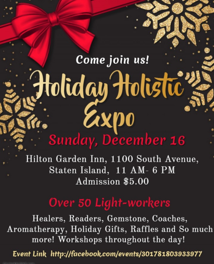 Holiday Holistic Expo