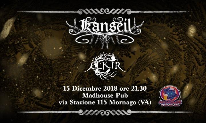 Kanseil + Elkir @Madhouse Pub (VA)