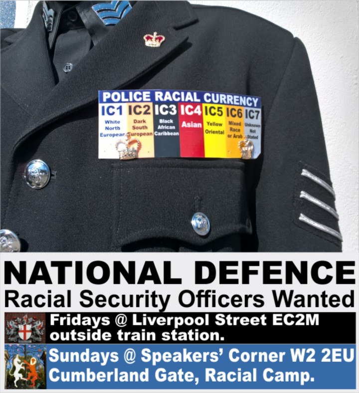 RACIAL DEFENCE OFFICERS RECRUITMENT FAIR