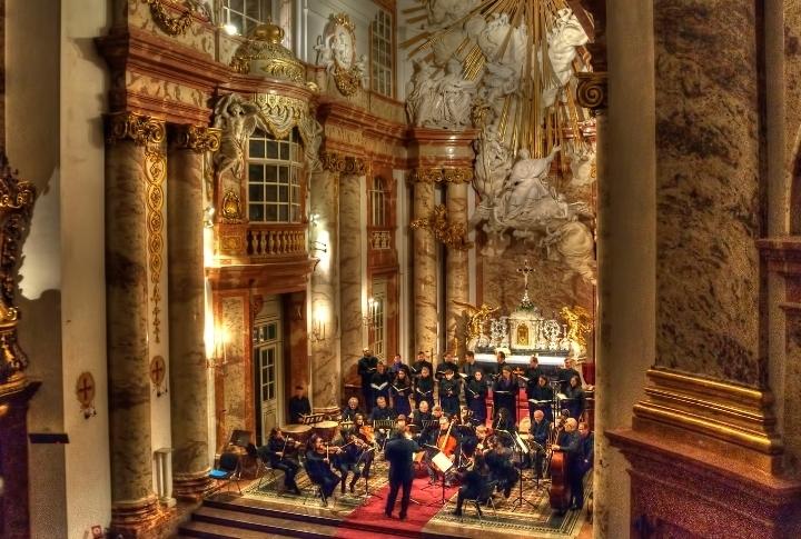 Mozart Requiem in der Karlskirche Wien