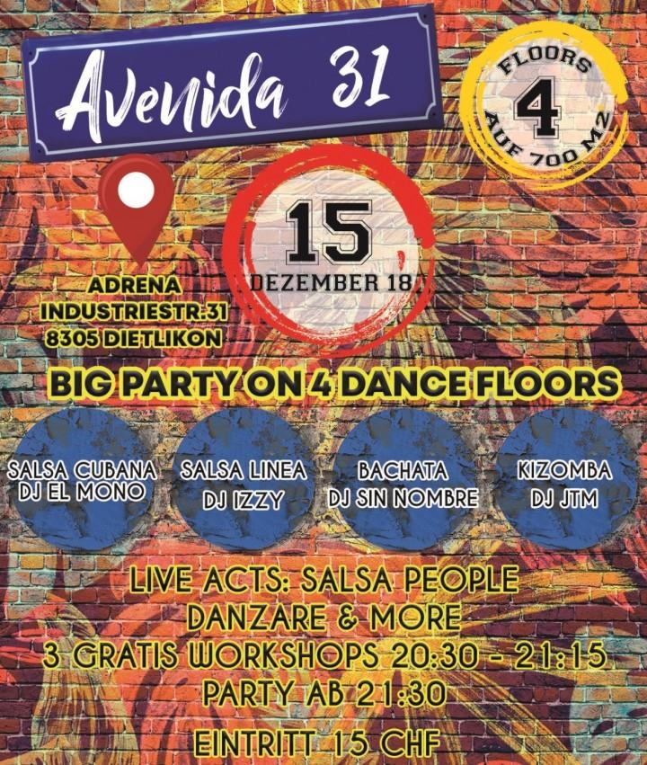 AVENIDA 31 OPENING PARTY