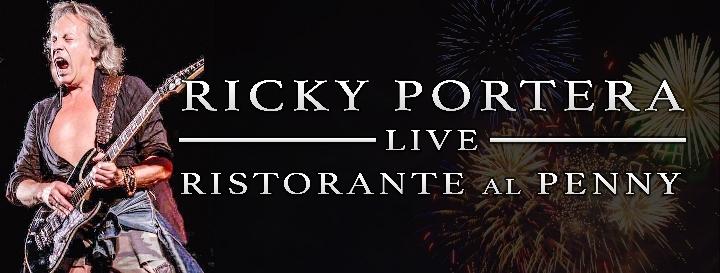 """Ricky Portera @LIVE al ristorante """"al Penny"""""""