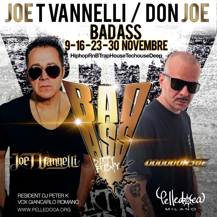 DABASS il nuovo Dj Set di Joe T Vannelli & Don Joe