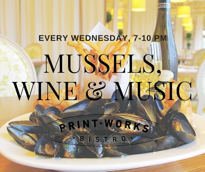 Mussels, Wine and Music
