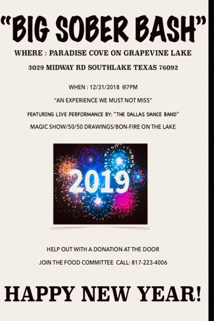 Big Sober New Year's Eve Bash Dallas