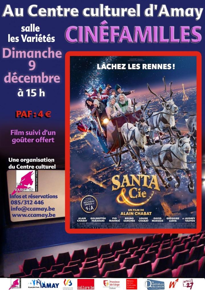 """Cinéfamilles """"Santa & Cie"""" d'Alain Chabat (à"""