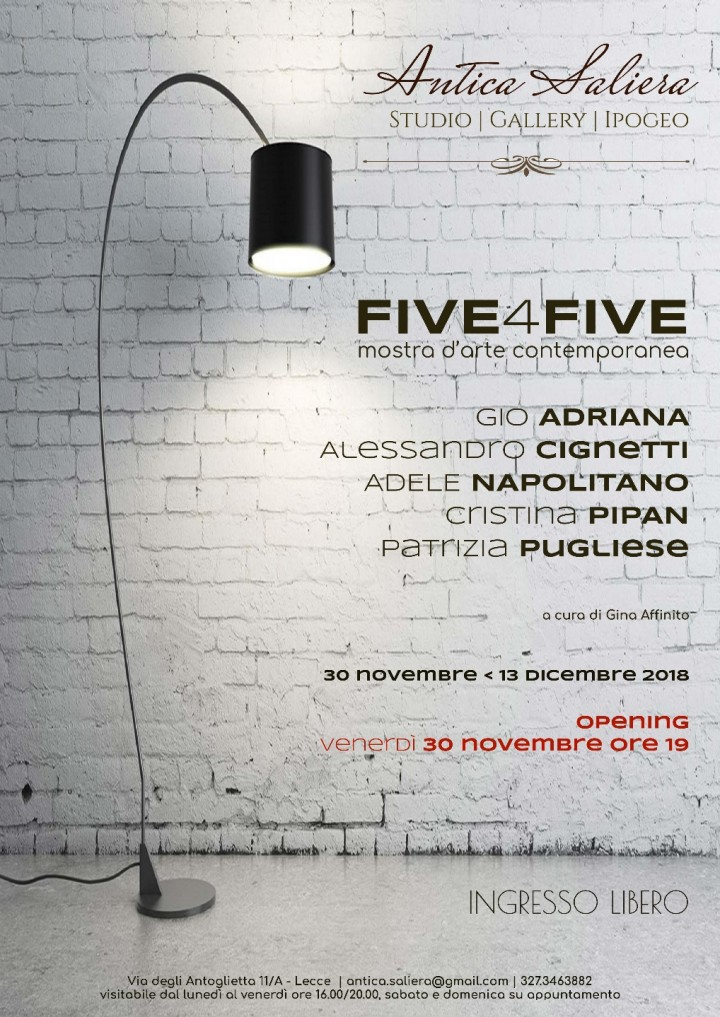 FIVE4FIVE | mostra d'arte contemporanea
