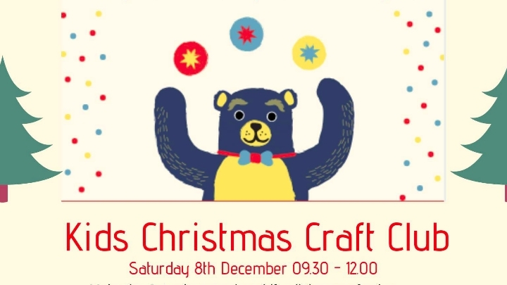 Kids Christmas Craft Club 8 Dic 2018