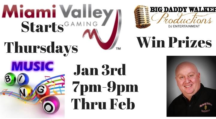 Music Bingo with Miami Valley Gaming Casino &