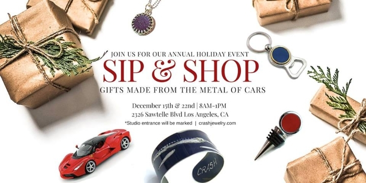 CRASH Jewelry Holiday Sip & Shop