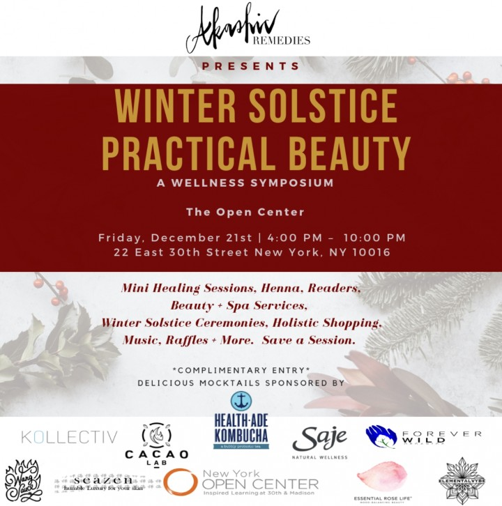 Practical Beauty: Winter Solstice  A Wellne