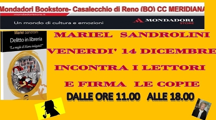 VENERDI' 14 DICEMBRE MARIEL SANDROLINI ALLA L