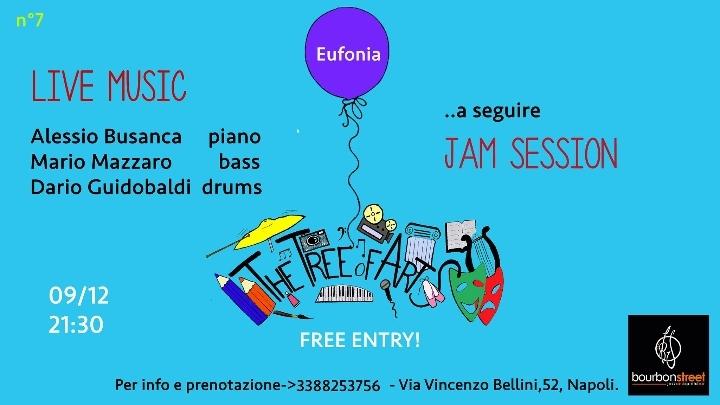 Napoli centro, 9 Dicembre 2018->Live music &