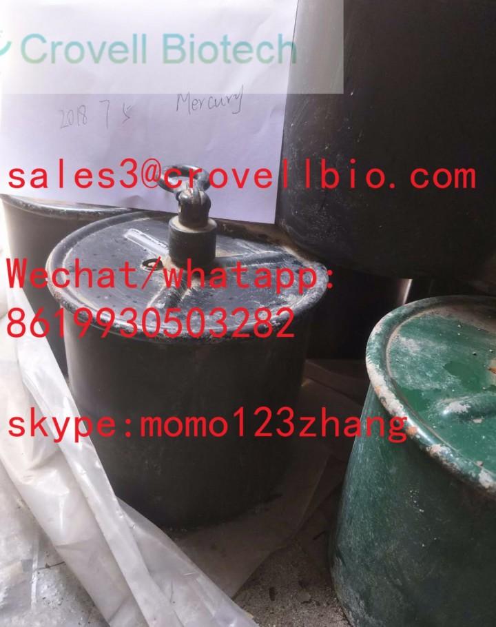 hot sale mercury cas 7439-97-6 from sales3@cr