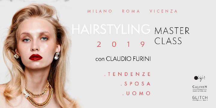 MASTERCLASS di HAIRSTYLING con Claudio Furini