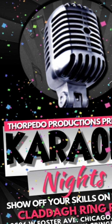 Karaoke Night Every Friday at the Claddagh Ri