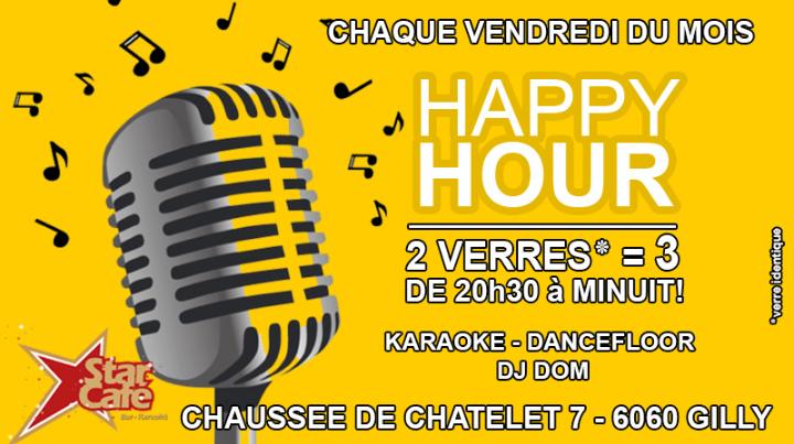 Happy Hour 20h30 à minuit - Karaoké DanceFloo