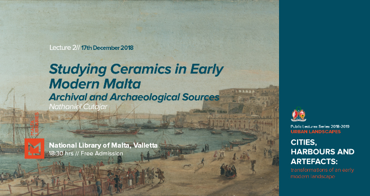 Studying Ceramics in Early Modern Malta - Pub