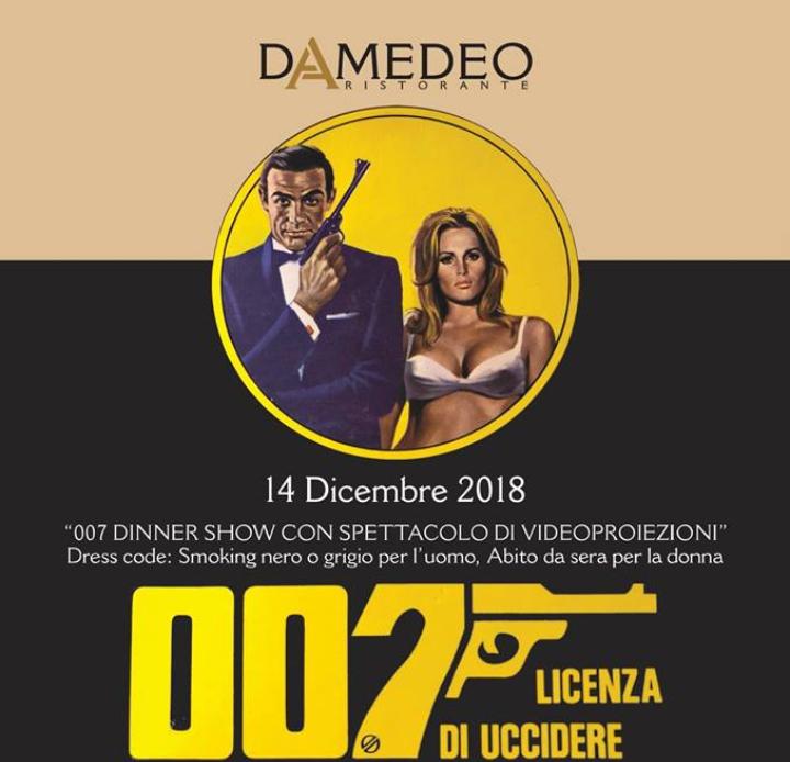 A cena con James Bond
