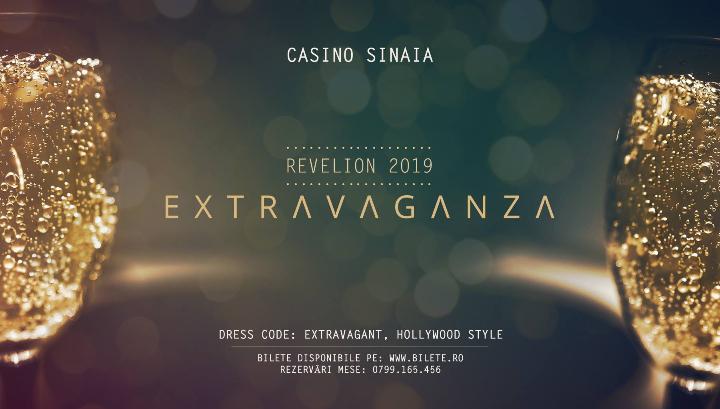 Revelion Extravaganza la Casino Sinaia