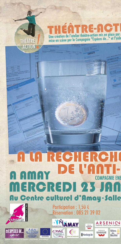"""Théâtre-action """"A la recherche de l'anti-dèch"""