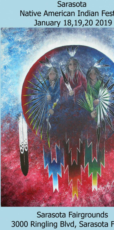 2019 Sarasota Native American Indian Festival