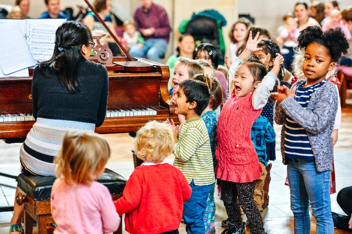 Bach to Baby Family Concert in Muswell Hill