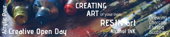 Creating Art - Sunday 21st Apr 3:00pm