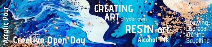 Creating Art - Sunday 21st Apr 12:30pm