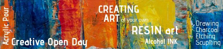 Creating Art - Saturday 13th Apr 12:30pm