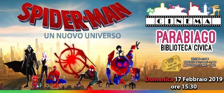 Proiezione - Spiderman - Un Nuovo Universo - Cinema Parabiago